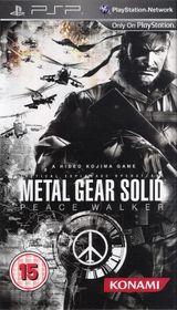 Metal Gear Solid: Peace Walker - Cover