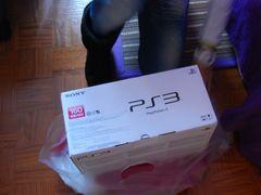 Caixa da Sony PS3