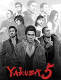 "Cover for ""Yakuza 5 Remastered (PS4)"""