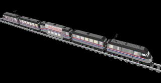 """Modelo Metroliner Lego"""" /"""